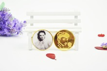 Rememberring Audrey Hepburn New Product Annivesary Coin Luxurious Personalized Coin Gift