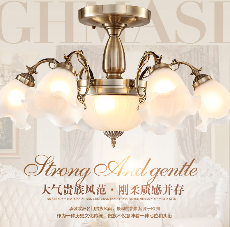 New The Restaurant A Single Headlight Of Bronze Mirror Lamp European Bedroom Bedside Lamp Post