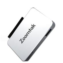 Zoomtak H8 Amlogic S905X Quad Core Google Android 6.0 2G RAM 8G eMMC Android 6.0 Marshmallow TV Box(China)