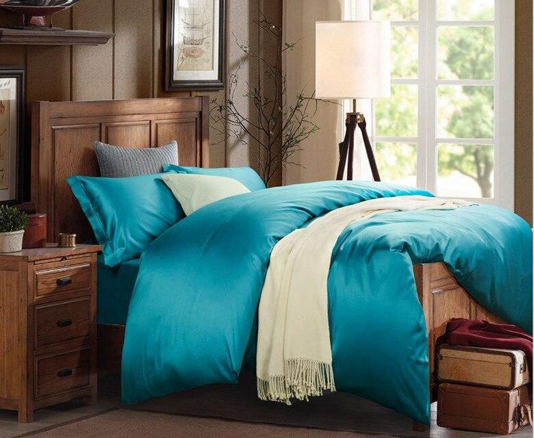 promo of plain black comforter in