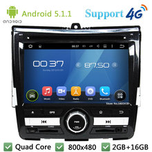 Quad Core Android 5.1.1 Car Multimedia DVD Player Radio Stereo Screen USB FM DAB+ 3G/4G WIFI GPS Map For Honda City 2008-2011