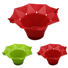 Green/Red Microwave Magic Popcorn Maker Popcorn Container Healthy Cooking Kitchen Use(China)