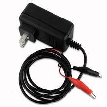 US 6V Sealed Lead Acid Rechargeable car universal Battery usb Charger Black & Red Rechargeable Sealed Lead Battery Charger NEW