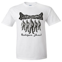 Discount 100% Cotton Gildan Short Sleeve Gift O-Neck Mens Last Under The Sun Hooligan Jihad Fast Chaotic Hardcore Punk Shirts