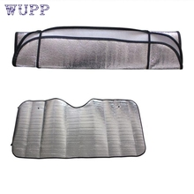 pretty 1Pc Casual Foldable Car Windshield Visor Cover Front Rear Block Window Sun Shade M17