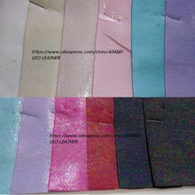 Super Soft Velvet Holographic effect Color Matching Backing fit for making shoes handbags, garment and DIY P1257