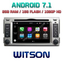 WITSON S190 Android 7.1 quad core Car Dvd Navi Player For HYUNDAI SANTA FE 08 2G ROM External Micro+ DAB +WIFI+OBD+DVB-T(China)