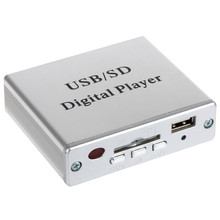 New Portable Power Amplifier MP3 SD USB Audio Player Reader 3-Electronic Keypad Control with Remote