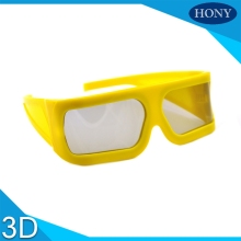 10pcs Packs Real D Cinema 3D Glasses For LG 3D TVs - Adult Sized Passive Circular Polarized 3D Glasses(China)