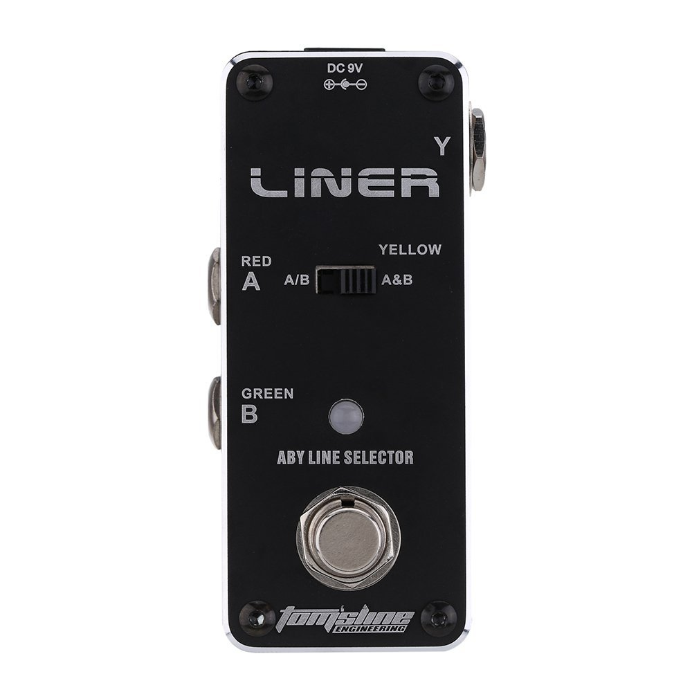 AROMA ALR-3 Liner Guitar Pedal Aby Line Selector Mini Electric Guitar Effect Pedal High Quality Guitar Parts &amp; Accessories<br>