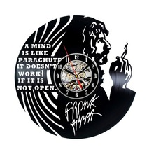 Handmade Vintage Vinyl Clock for Frank Zappa Fans(China)