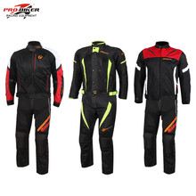 2017 Motorcycle Racing Jacket Pants Suits Protector Motocross Body Armour Protect Jackets Vest Clothing Protective Gear(China)