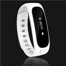 2016 Latest Smart Wristwatch Sports Health Electronics Fitness Tracker Wristwatch Smart Band Bluetooth Bracelets Rubber Belt