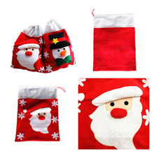 Large Father Christmas Santa Sack Gift Presents Bag Xmas Stocking Toy Red Storage Bags Case Pouch Case Container Organizer