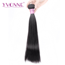 Yvonne Hair Products Brazilian Hair Weave Bundles Straight 100% Real Human Hair Weft Remy Hair Weaving Shipping Free(China)