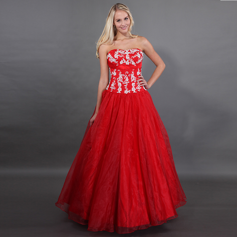 Red Quinceanera Dresses New Arrival Sweet 15 Puffy Ball Gowns Ivory Appliques Vestido Quinceanera Debutante 2019 Sweet 16 Dress
