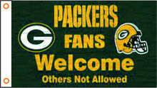 sports flag nfl Green Bay Packers banner 3x5ft 100% Polyester free shipper 04(China)