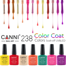 CANNI UV Nail Polish 25-48  Shiny UV Gel Nail Polish Varnish LED Soak Off Glue Nail Art UV Gelpolish 238Colors CN03