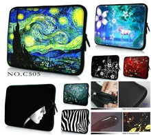 Many Designs Soft Neoprene Handle Sleeve Case Bag For 10 10.6 11 12.1 13 13.3 14.1 15 15.6 17 Inch Netbook Laptop(China)