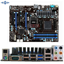 original Used Desktop motherboard For msi 970A-G46 970A support Socket AM3+/AM3 4*DDR3 support 32G 6*SATA3 USB2.0 ATX