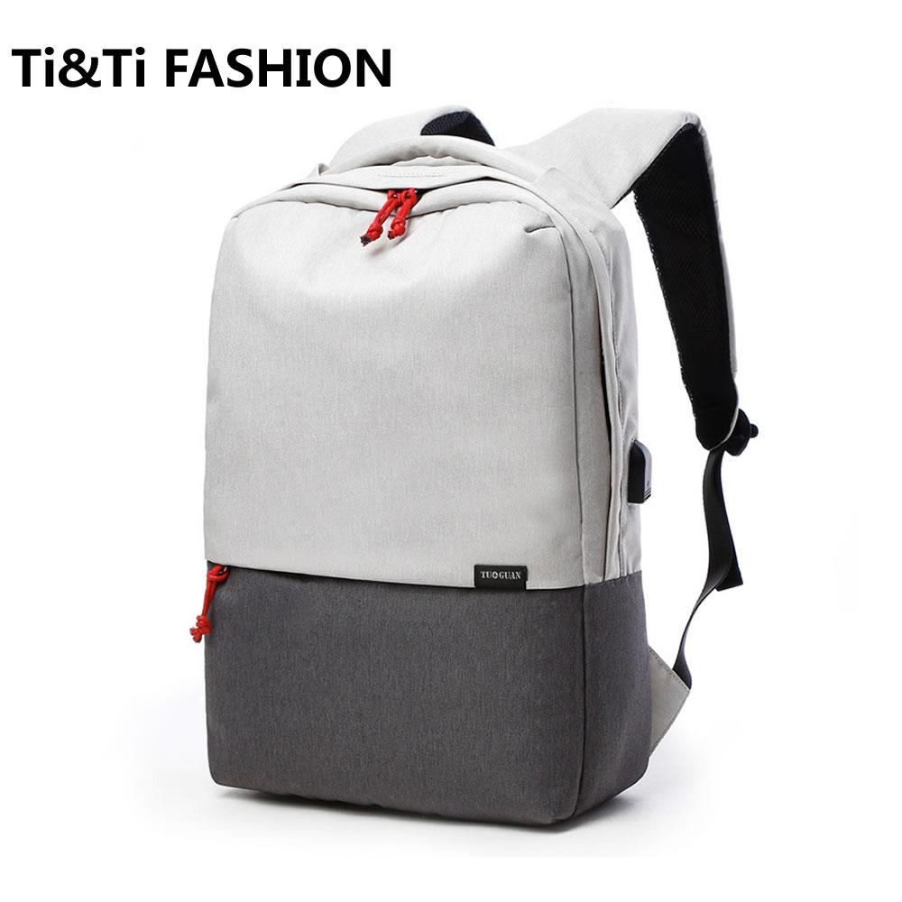 Hot Men Laptop Backpack For 15.6 inch External USB Charging Rucksack School Bags Anti theft Waterproof Bags for Teen Boys Girls <br>