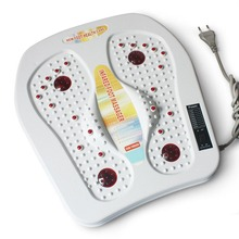 220V Physical infrared reflexology foot Massager electric machine.Automatic roller circulation therapy heater foot SPA