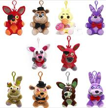 1pc Five Nights at Freddy's 10style plush Bonnie china foxy freddy doll toy Furnishing articles Children's gift Toy