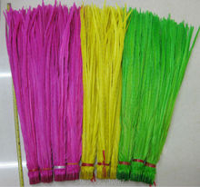 "300pcs/lot 20-22""50-55cm Dyed Rose Yellow Lime Green Ringneck Pheasant Tail feathers Carnival showgirl customes headdress"