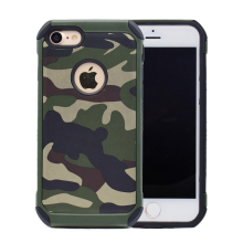For Apple iPhone 6 6s 7 Plus Case for iPhone7 Cover 6sPlus 7Plus Camouflage Hard PC & TPU Hybrid Back Cover Mobile Phone Cases
