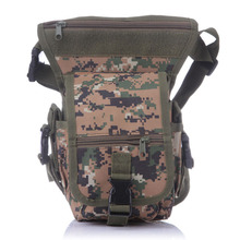 Outdoor Multifuntional hunting bag Tactical Swat Military Drop Leg Bag Panel Utility Waist Belt Pouch Bag(China)