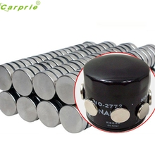 CARPRIE 50Pcs Car Engine Oil Filter Filtration Magnets Rare Earth Neodymium New Aug.4
