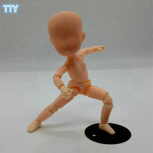 2017 Figma Artist Movable Limbs baby Body 13cm PVC baby Sketch model Toys Figure Model Mannequin Art Sketch Draw Action Figures