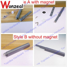 New Push To Open System Damper Buffer For Cabinet Door Cupboard Catch With Magnet(China)