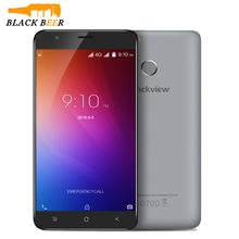 Original Blackview E7 Smartphone 5.5 Inch 8.0MP 4G LTE Android 6.0 Mobile Phone MTK6737 Quad Core 1GB RAM 16GB ROM Cell Phone