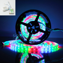 5M SMD 5050 Dream Color  IP65 Waterproof 270 LEDs 54led/m RGB Horse Race RGB Chasing Flexibale Light strip +Remote Controller