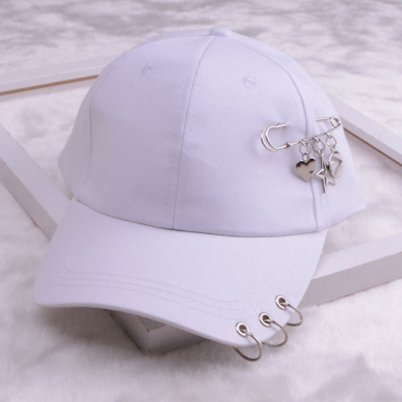 baseball cap with ring dad hats for women men baseball cap women white black baseball cap men dad hat (15)