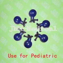 Multi-use Pediatric EKG Suction Electrode,Suitable for 4.0 banana,3.0 din,snap and clip of 6 pcs in set.(China)