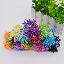 800pcs 5mm Foam Artificial Berry Stamen Flowers Wedding Birthday Cake Decoration DIY Scrapbooking Craft Decorative Pistil Flores(China)