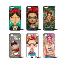 For iPhone 4 4S 5 5C SE 6 6S 7 Plus Samsung Galaxy Grand Core Prime Alpha Cute Frida Kahlo lisa art Design phone Hard Case