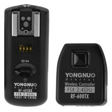 YONGNUO RF-602/N YONGNUO RF-602 RF602 RF 602 2.4GHz Wireless Remote Flash Trigger for NIKON D90 D5100 D700 D3