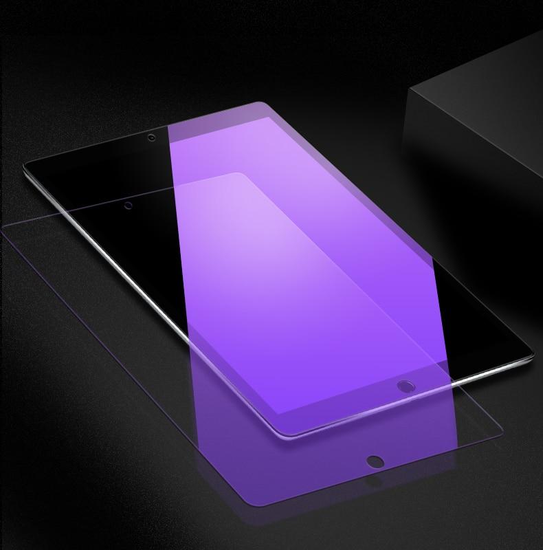 Anti-Blue Light Tempered Glass For Apple iPad 2 3 4 Mini Air 1 2 Mini3 4 2017 2018 iPad Screen Protector Tablet Protective Film