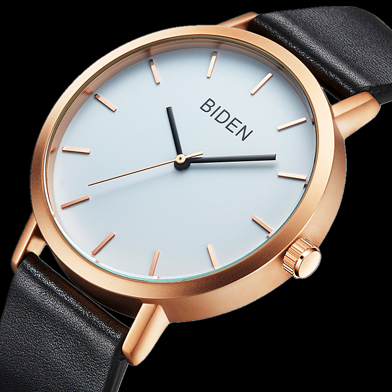 Relogio Masculino Mens Watches Top Brand Luxury Watches reloj hombre Genuine Leather Casual Waterproof Quartz Watch Men Clock<br><br>Aliexpress