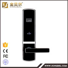 Rfid card security electric handle safe digital smart keyless hotel door lock(China)