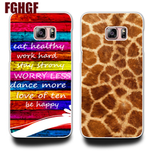Wild leopard grain and Color wood grain Phone Hard Plastic Case Cocer For Samsung Galaxy S3 S4 S5 (mini) S6 S6 edge(China)