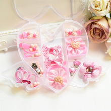 Fashion Children Headwear Bowknot Hello Kitty Hair Clips Flower Bands Hair Accessories Barrettes Scrunchies For Cute Baby(China)
