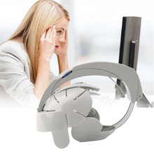 Electric Head Massager Acupoint Relax Brain Vibration Stress Release Machine Health Care Grey Color Fashion