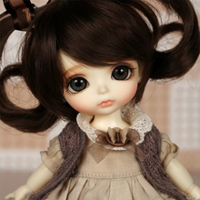 OUENEIFS bjd sd doll lati yellow sunny lea lami kuro coco doll 1/8 body include eyes model reborn High Quality toys(China)