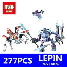 Nexus Knights Building Blocks Set LEPIN 14026 27Lance Vs. Lightening Kids Gift Bricks Toys Children Compatible 70359 - Goldtoys Store store