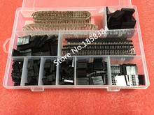 Gratis verzending 1550 Stks/set Connector Kit 2.54mm PCB Headers Box Verpakking Dupont Elektrische Elektronica Voorraden(China)