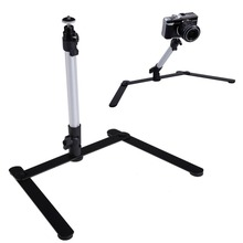 Adjustable Table Top Aluminum Camera Mini-Monopod with 1 Flexible Stand for DSLR Digital Camera L3EF